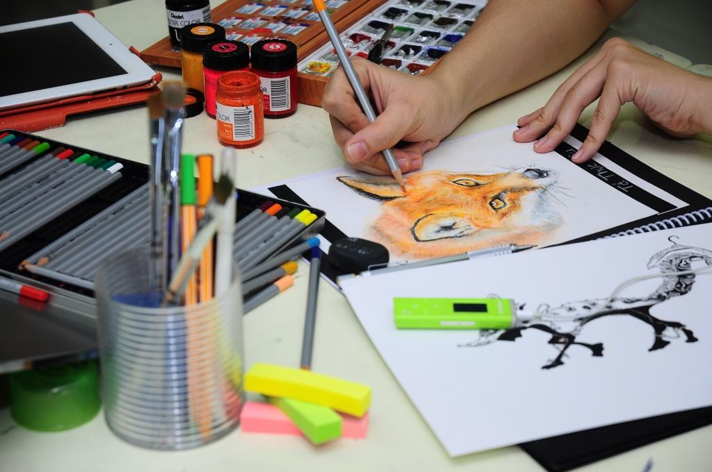 Phát triển khả năng vẽ trong ngành thiết kế nội ngoại thất